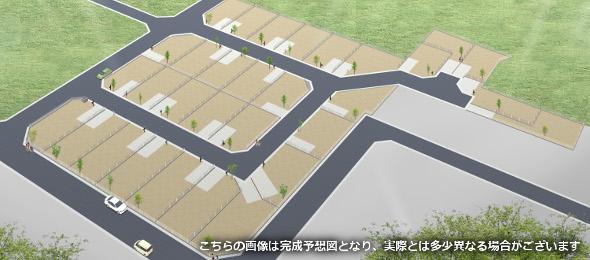 グランドヒルシリーズ プレミアム習志野I 土地と建物で2,841万円〜全31区画の大規模分譲地