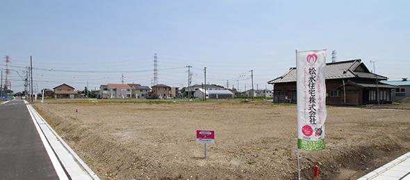 【松永住宅の分譲】浦和美園320区画の邸宅プロジェクトM-WING 第1期 建築条件付き土地