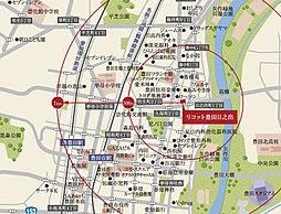 名鉄三河線「豊田市」駅1km圏内