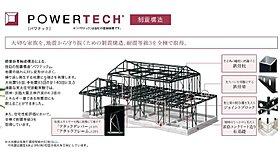 (1)【パワテック】制震鉄骨軸組構造