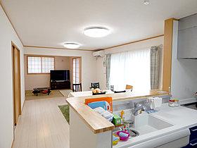 キッチンスタイル、壁紙、床、建具まで豊富なパターンをご用意!