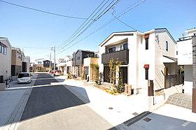 街並み完成予想図。15家族の街。