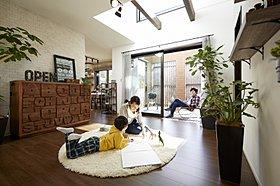 ※181号地モデルハウス(平成27年8月撮影)
