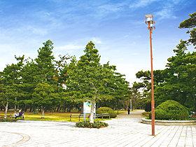 浜寺公園(約1280m/自転車5分)