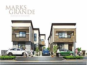 木の質感をまとった都市に映える品格高い全4邸