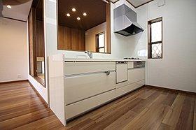【モデルハウス写真】 キッチン