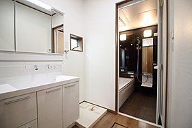 【モデルハウス写真】 洗面所、浴室