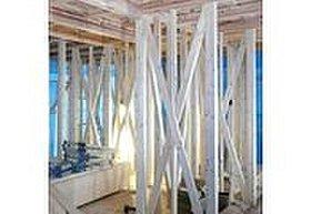 建築基準法を大きく上回る筋かい量