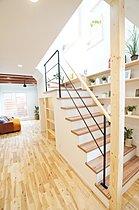 ゆったりとした雰囲気の主寝室。