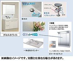 洗面台の設備
