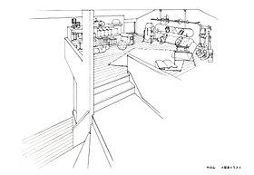 プラスギャラリー(固定階段+小屋裏収納)