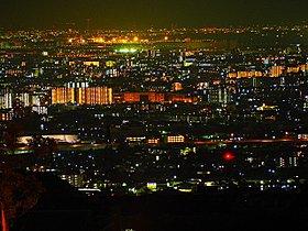現地からの夜景