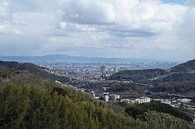 ナシオン東山台からの眺望