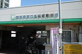 蓮田駅西口 自転車置き場