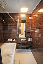 バスルームにはミストカワックが標準装備