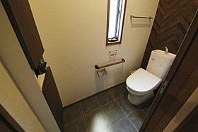 モダンでオシャレなトイレ