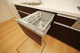 奥様にご好評の食洗機、標準装備