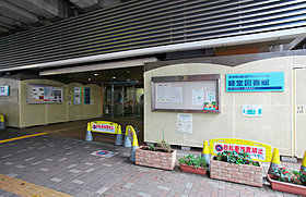 駅前にある世田谷区立経堂図書館