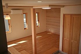 すべてのお部屋に省エネタイプのエアコンが設置されています。