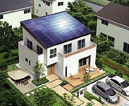 太陽光発電システム搭載イメージ