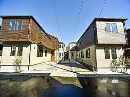 全28邸リストガーデン三ツ池公園 カースペース2台 新築2750万円〜建物内見れます×2階建