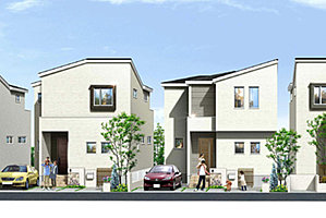 ポラスの分譲住宅 Mirais 三郷中央 nextstage 望む家。B区