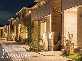 全42棟の大型開発分譲地、ゆとりある街づくりを目指しました。The Farmony's ふじみ野