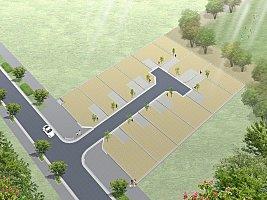 グランドヒルシリーズヴィーナスコート稲毛海浜公園 全13邸の新しい街並み