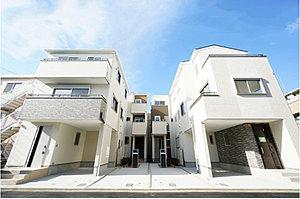 〜ディアレストガーデン西新井本町〜デザイン性と充実の設備を兼ね備えた邸宅全13棟