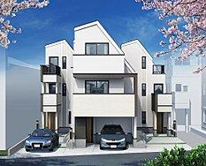 桜並木の美しい街並み 全5棟ラスト3棟 【リビングライフ】本羽田3丁目 新築一戸建て
