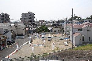 【MELDIA茨木五十鈴町】コンセプト住宅がお披露目間近総10区画の綺麗な街並みがここに誕生します。