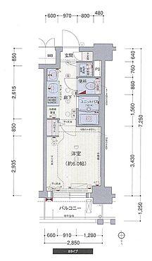 マンション(建物一部)-大阪市北区紅梅町 間取り