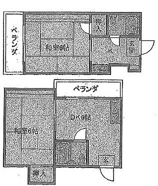 マンション(建物全部)-大阪市住之江区御崎2丁目 間取り