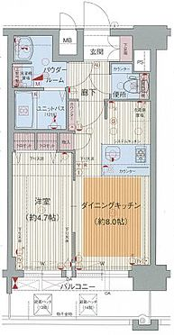 マンション(建物一部)-神戸市中央区橘通1丁目 間取り