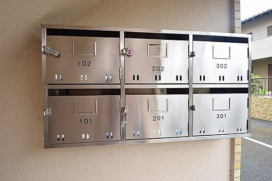 マンション(建物全部)-松戸市新松戸北1丁目 鍵付き集合ポストで個人情報も安心。