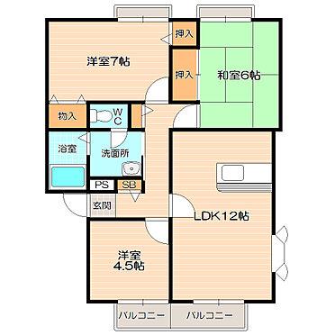 アパート-千葉市花見川区千種町 ファミリーにおすすめの3LDK。