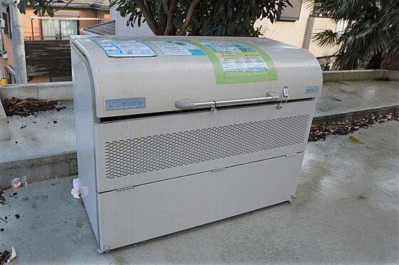 アパート-横浜市港北区鳥山町 入居者専用ゴミ捨場有。