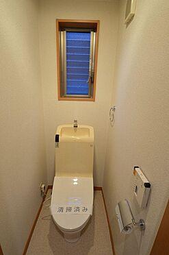 アパート-横浜市西区久保町 トイレはウォシュレットと窓付