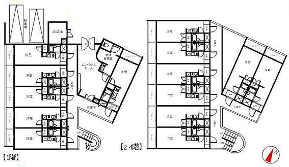 マンション(建物全部)-大田区池上3丁目 間取り