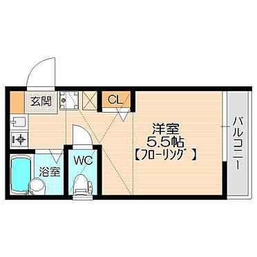 アパート-横浜市西区久保町 梁がなく使いやすい間取りロフト付