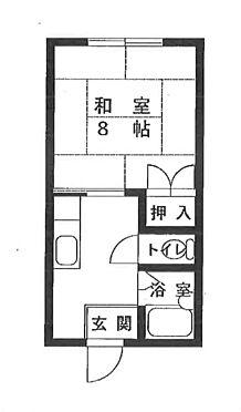 アパート-伊賀市上神戸 間取り
