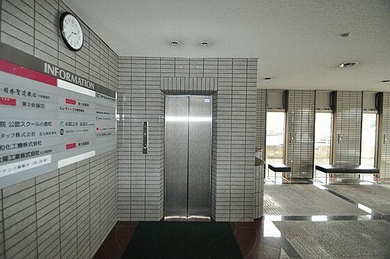 ビル(建物全部)-北九州市小倉北区浅野2丁目 シンプルできちんとメンテナンスされたエレベーター