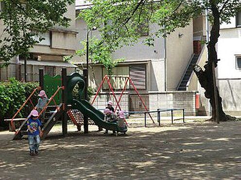マンション(建物全部)-港区白金台4丁目 周辺環境:雷神山児童遊園
