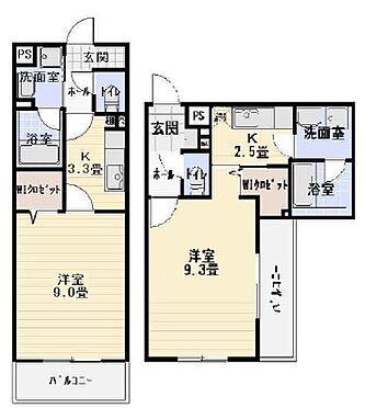 マンション(建物全部)-静岡市清水区万世町1丁目 間取り