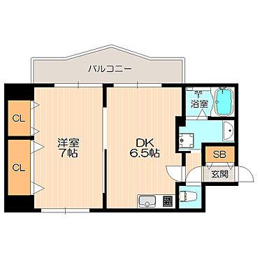 ビル(建物全部)-福岡市中央区渡辺通4丁目 室内設備充実の1DK
