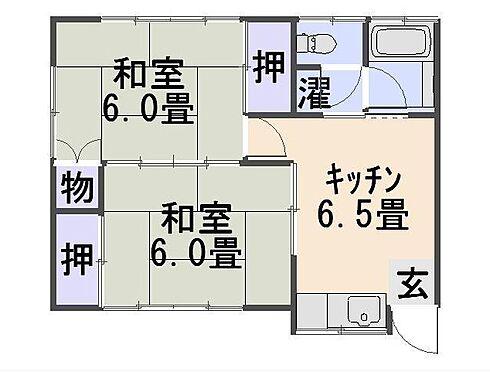 アパート-長岡市今井2丁目 間取り