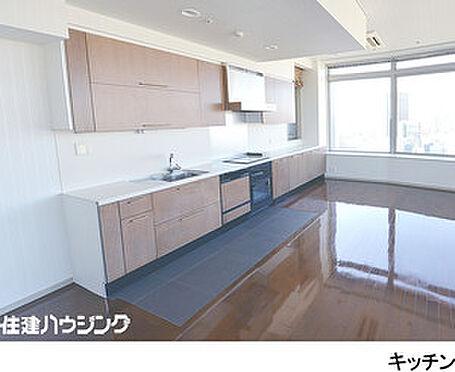 マンション(建物一部)-港区東新橋1丁目 作業スペースの広いキッチン