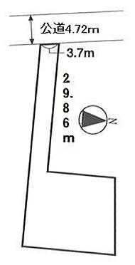 アパート-世田谷区祖師谷4丁目 地形図