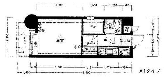 マンション(建物一部)-福岡市博多区住吉5丁目 間取り