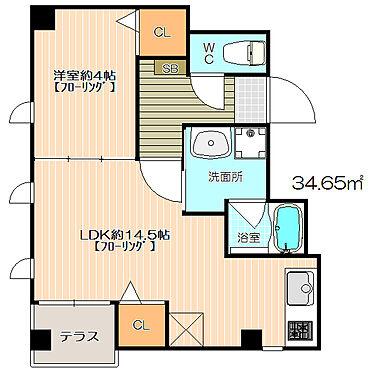 ビル(建物全部)-福岡市中央区荒戸1丁目 室内設備も充実の1LDK